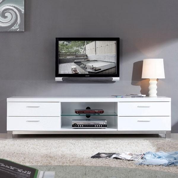 White Tv Stand For Living Room Inside 2017 White Tv Stand Modern (View 16 of 20)