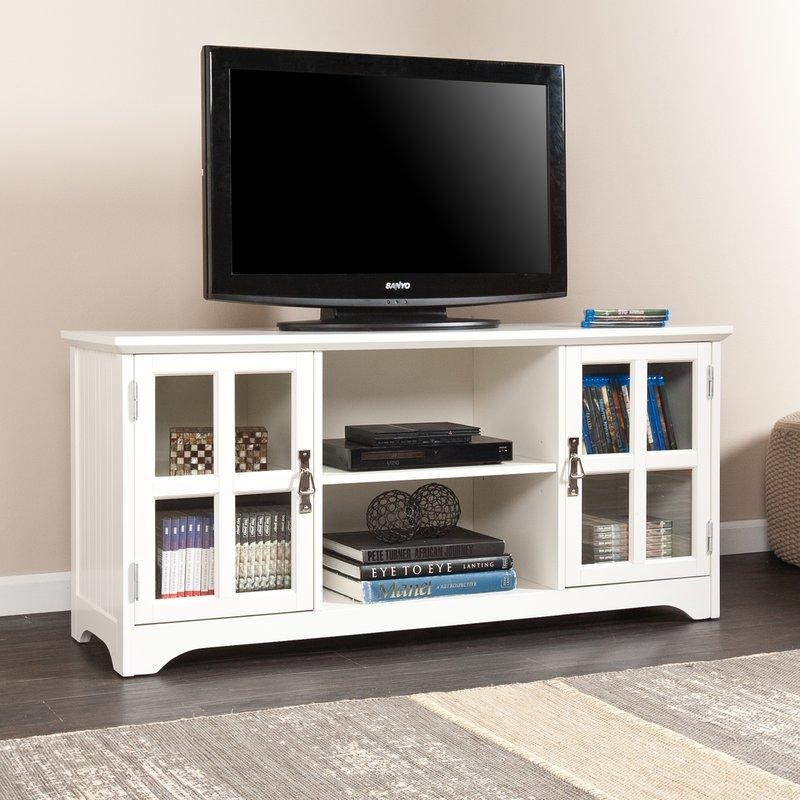 White Tv Stand White Tv Stands For Less (Image 20 of 20)