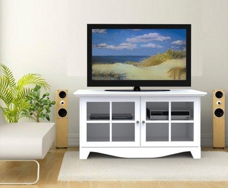 White Tv Stands For Flat Screens: Top 7 Most Popular White Tv Regarding Most Recently Released White Tv Stands For Flat Screens (Image 19 of 20)
