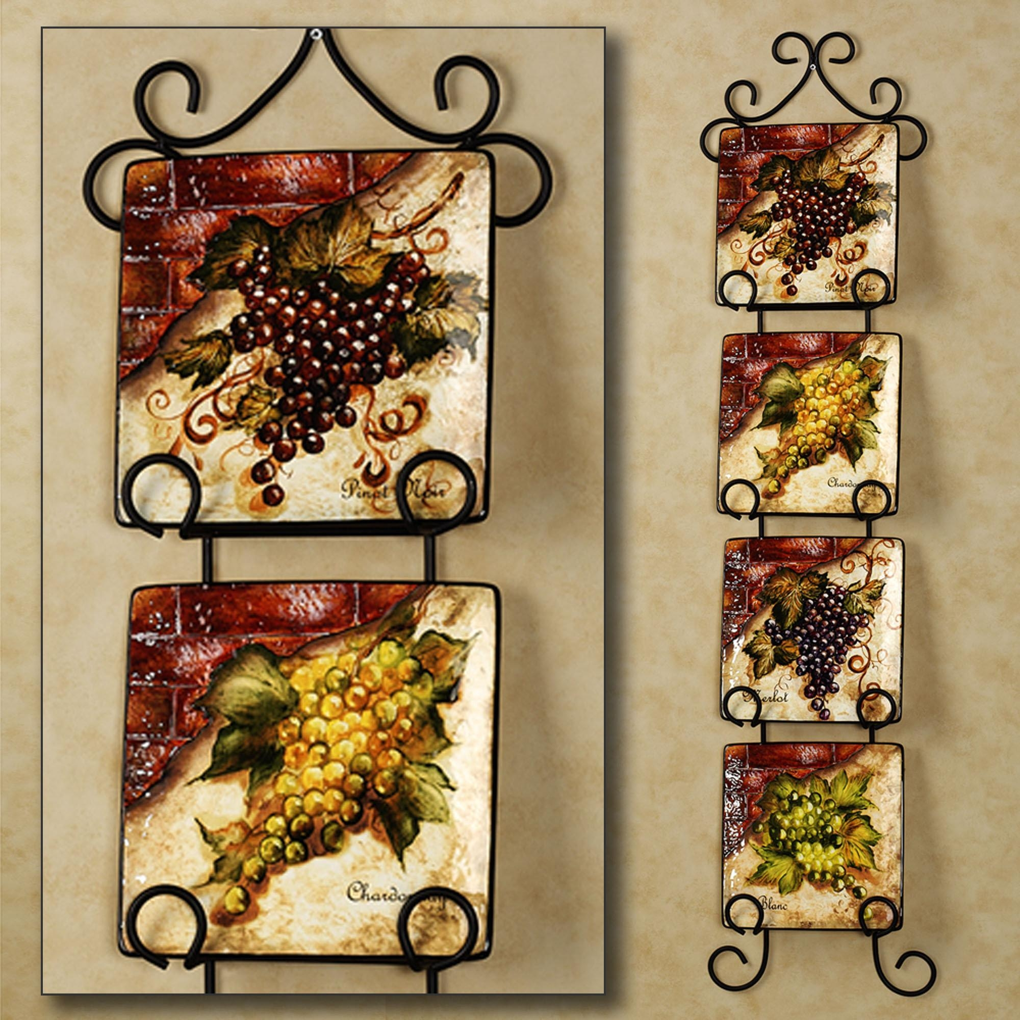 Wine And Grape Kitchen Decor Ideas | Design Ideas And Decor Within Grape Vineyard Wall Art (View 12 of 20)