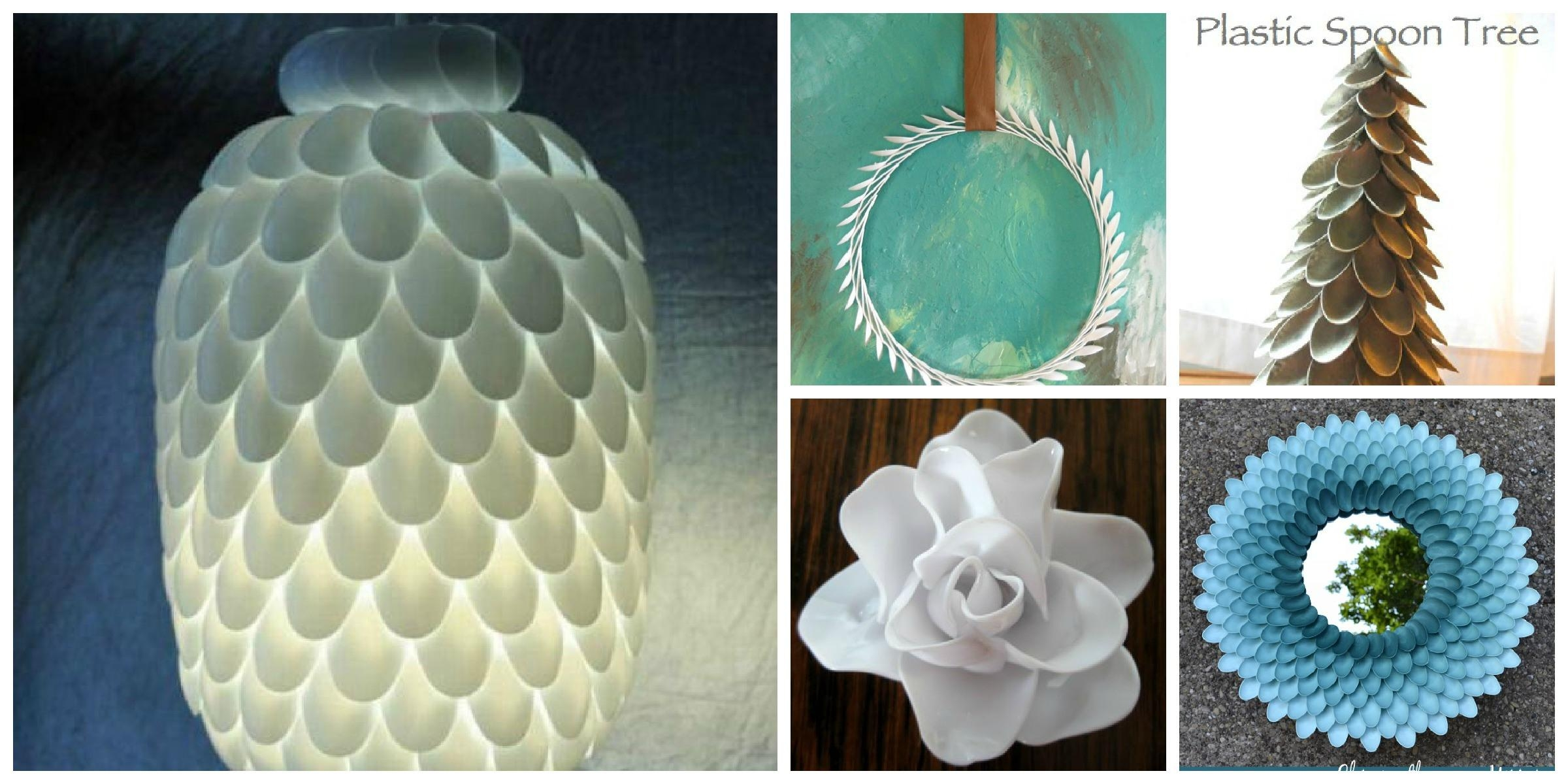 Wonderful Design Ideas Of Spoon Crafts Creation In Jar And With Plastic Spoon Wall Art (Image 20 of 20)