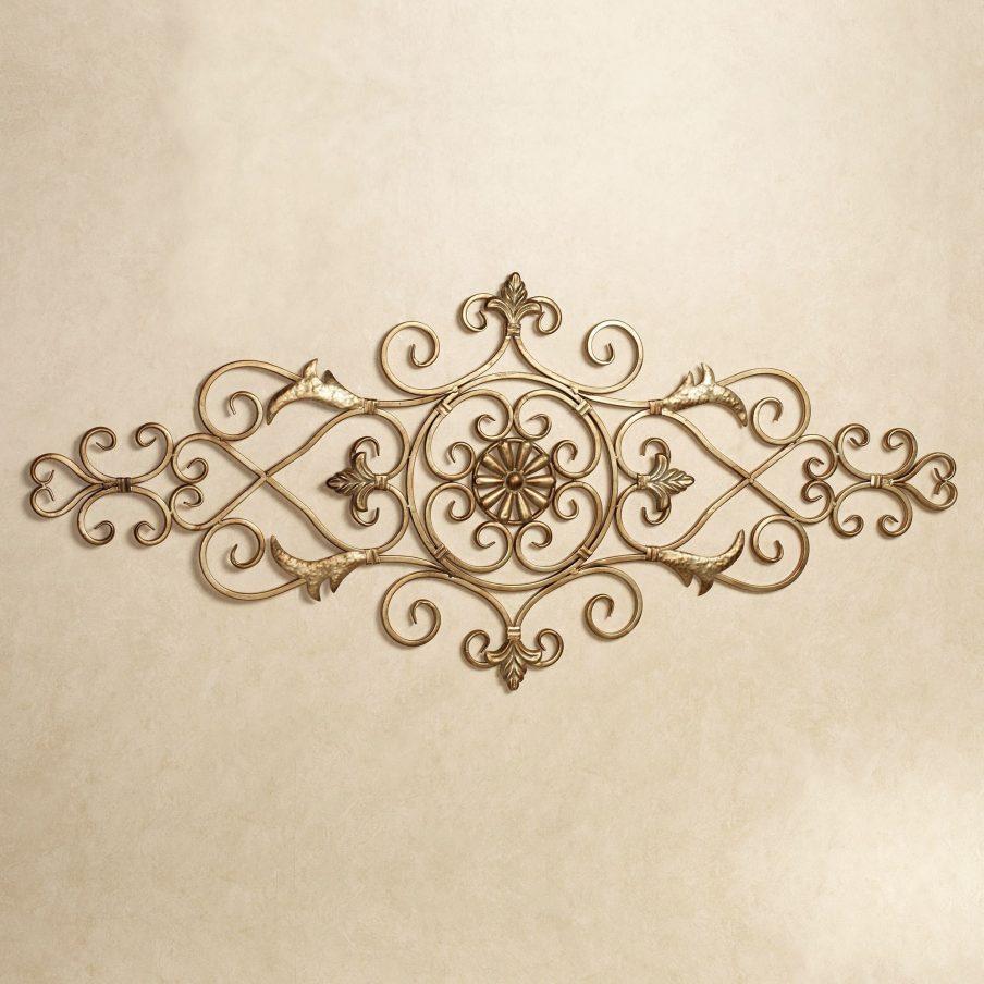 Wonderful Iron Scroll Wall Art Decor Iron Marvelous Ideas Metal With Regard To Iron Scroll Wall Art (Image 18 of 20)