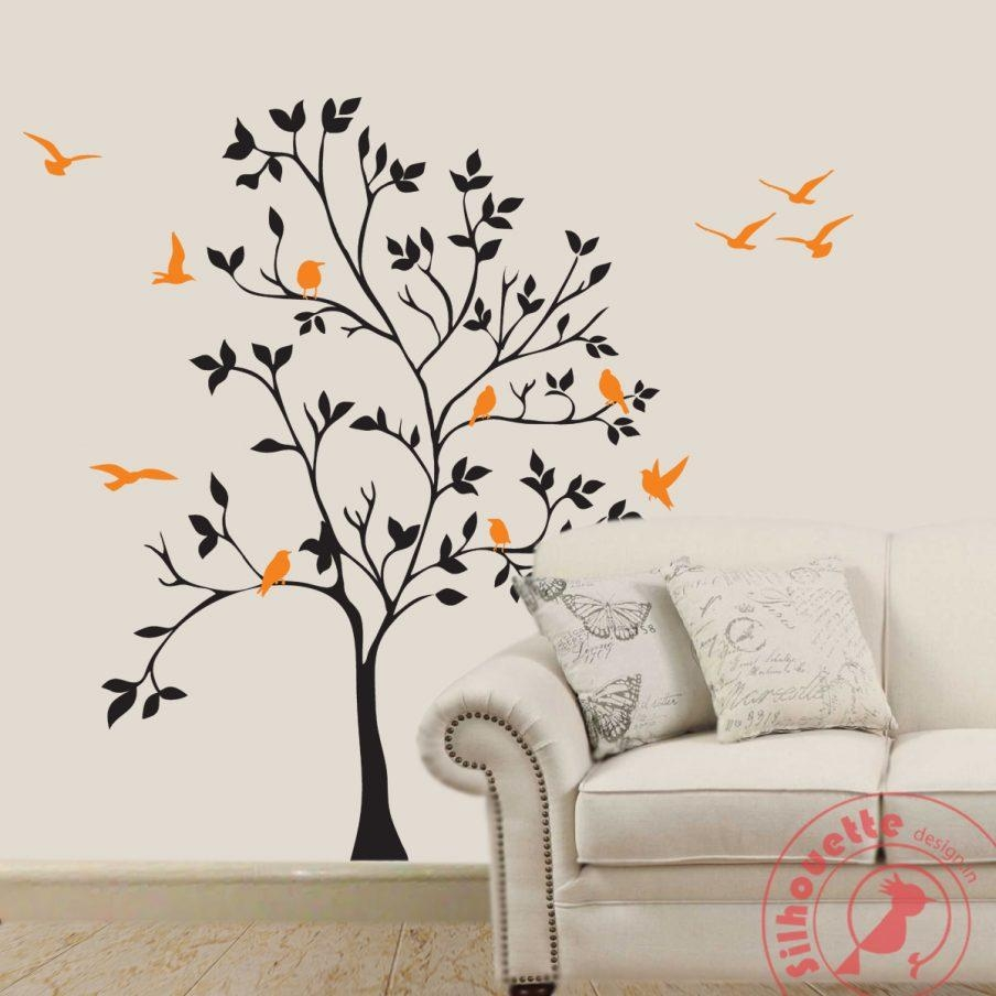 Wondrous Vinyl Wall Art Tree Decals Best Tree Wall Art Metal Wall With Regard To Tree Of Life Wall Art Stickers (View 2 of 20)
