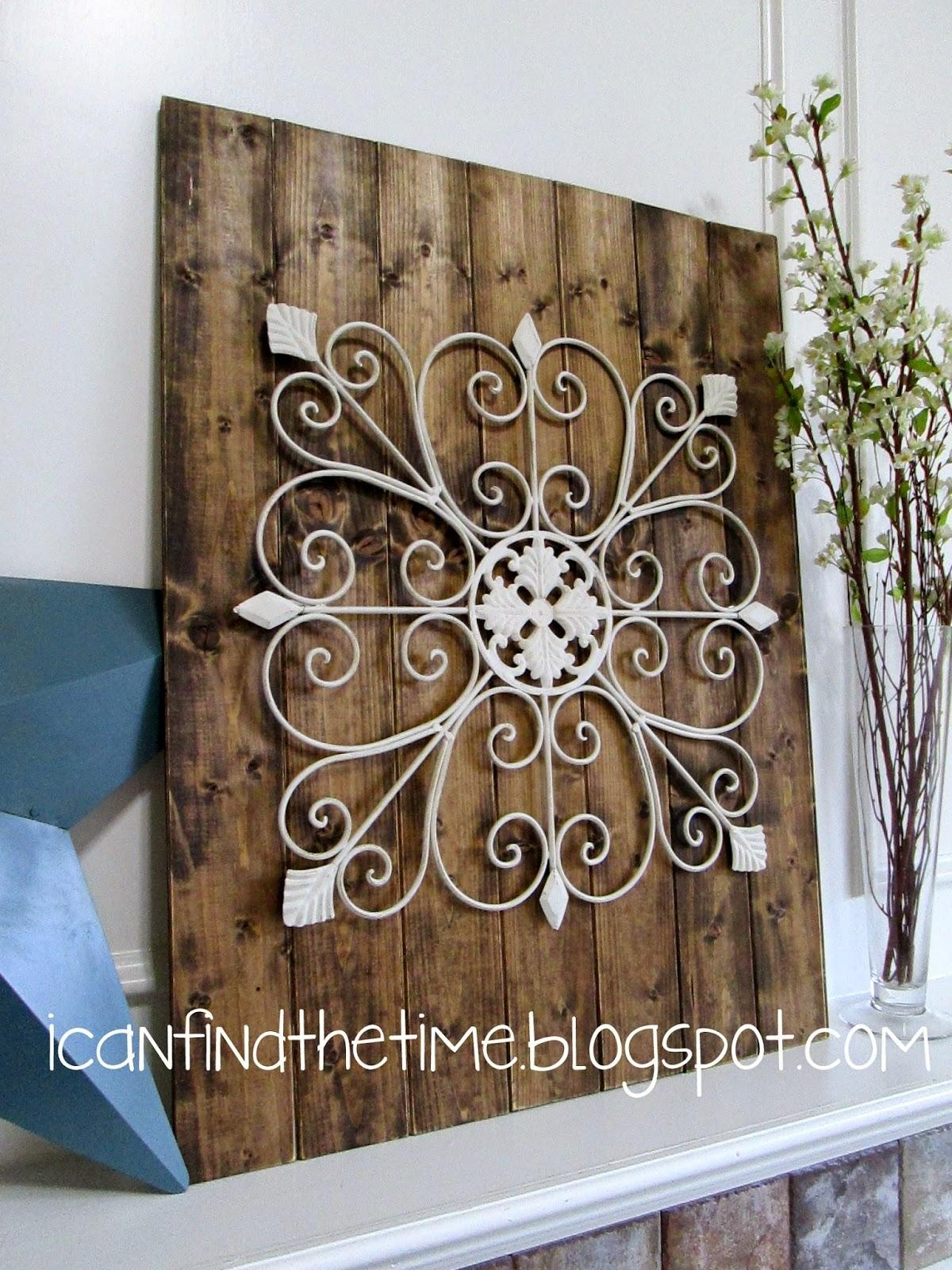 Wood And Metal Wall Art Throughout Iron Art For Walls (Image 20 of 20)