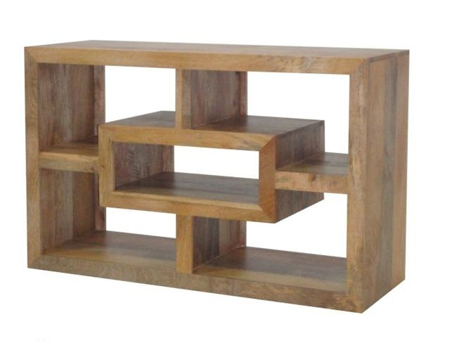 Wood Tall Flat Screen Tv Unit Available In Dark Or Light Finish Regarding Latest Mango Tv Units (View 14 of 20)