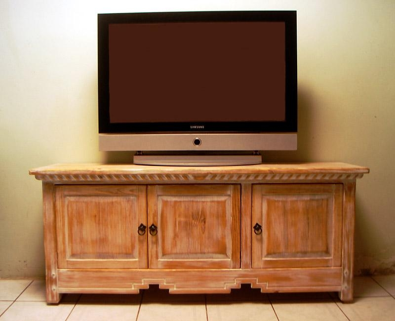 Wood Tv Cabinets For Flat Screens | Roselawnlutheran With Newest Wooden Tv Stands For 55 Inch Flat Screen (View 6 of 20)