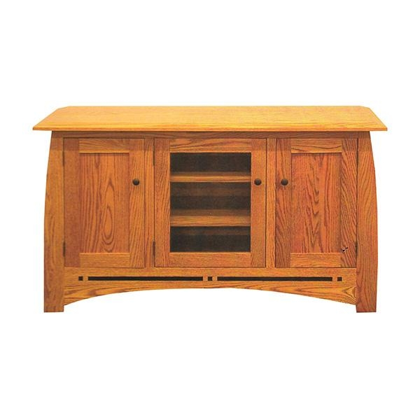 Wood Tv Stands – Tv Carts – Oak Tv Stands Regarding 2017 Oak Tv Stands (Image 20 of 20)