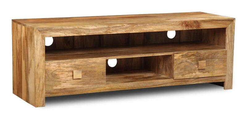 Wooden Indian Tv Units Regarding Most Current Mango Tv Unit (View 10 of 20)