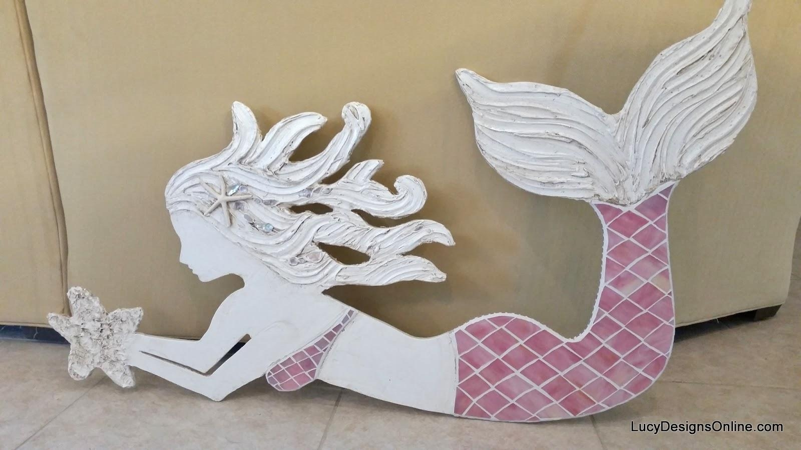 Wooden Mermaid Wall Art – Wall Art Design Pertaining To Mermaid Wood Wall Art (View 4 of 20)
