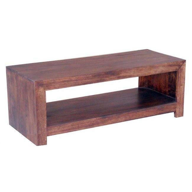 Wooden Tv Stand Dakota Mango Hardwood Plasma Tv Unit | Wooden Tv Intended For Most Recent Wooden Tv Stands With Doors (Image 20 of 20)