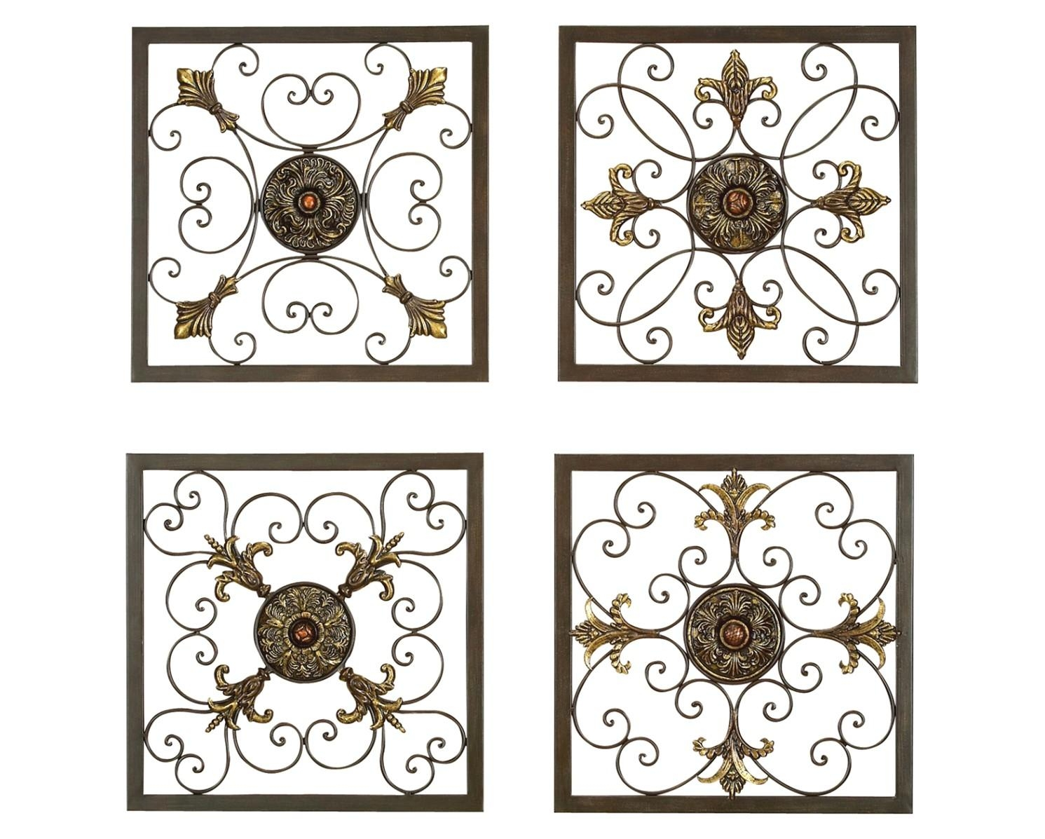 Wrought Iron Scroll Wall Decor Fresh Decor Home Decor With Wrought Intended For Iron Scroll Wall Art (View 17 of 20)