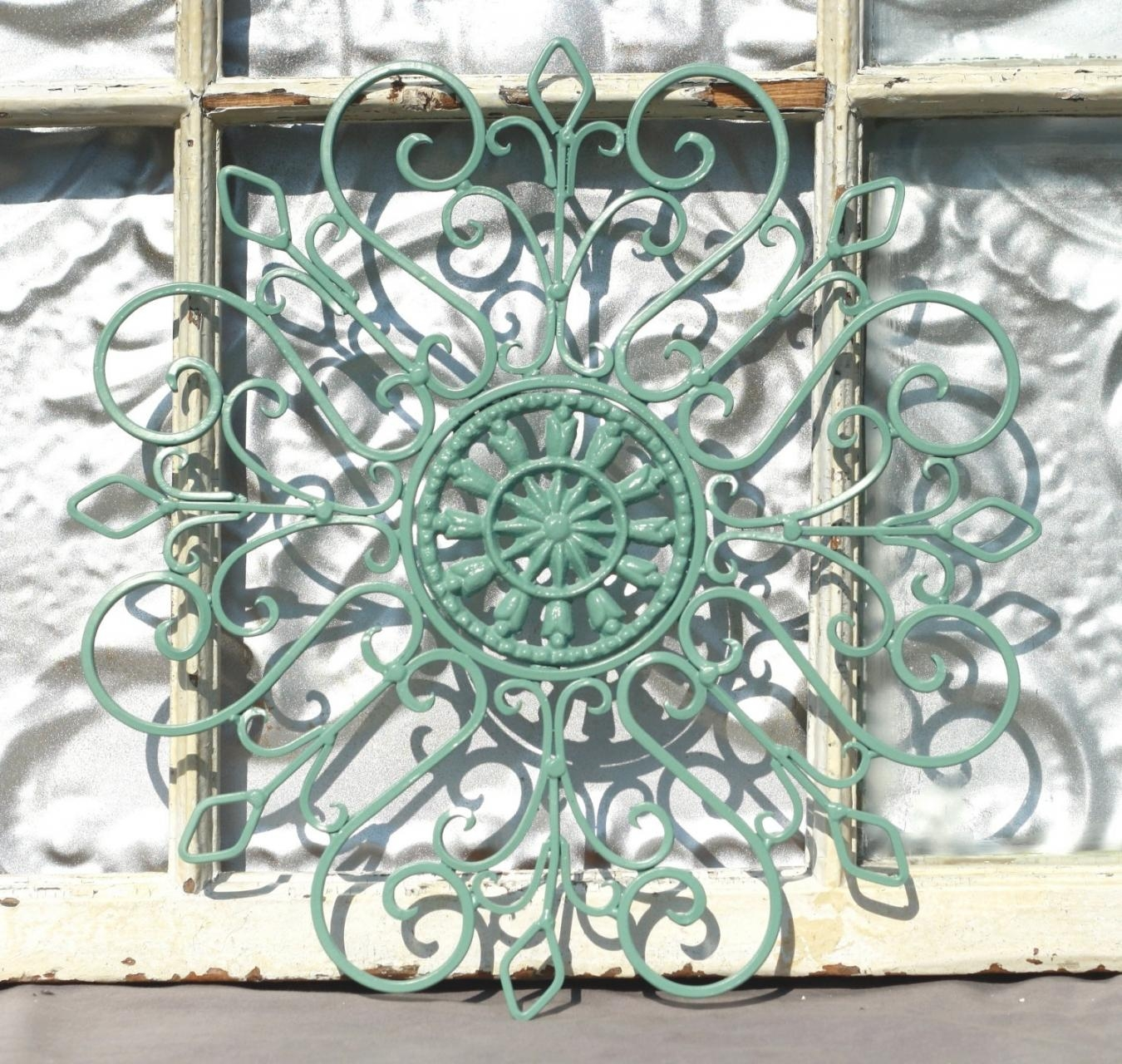 Featured Photo of Outdoor Wrought Iron Wall Art