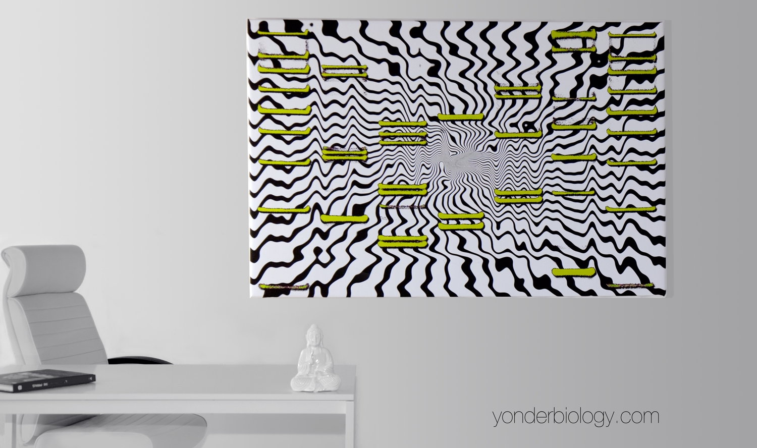 Yonder Launches Neon Dna Art Collection in Dna Wall Art