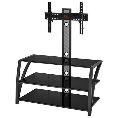 Z Line Designs Fiore Tv Stand With Integrated Mount For Tvs Up To With Regard To Newest Tv Stand With Mount (Photo 7 of 20)