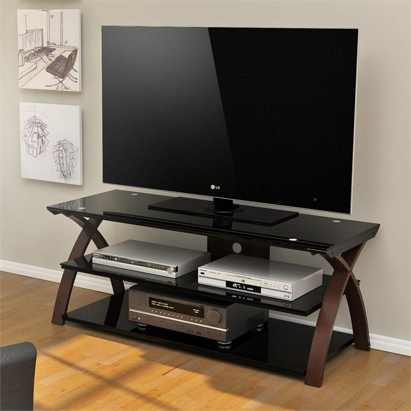 Z-Line Willow 55 Inch Tv Stand Zl0292-55Su regarding Most Popular Tv Stands For 55 Inch Tv