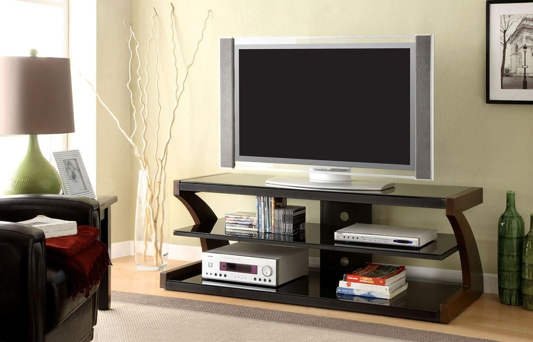 Zega Contemporary Tv Stand | La Furniture Center pertaining to Best and Newest Contemporary Tv Stands
