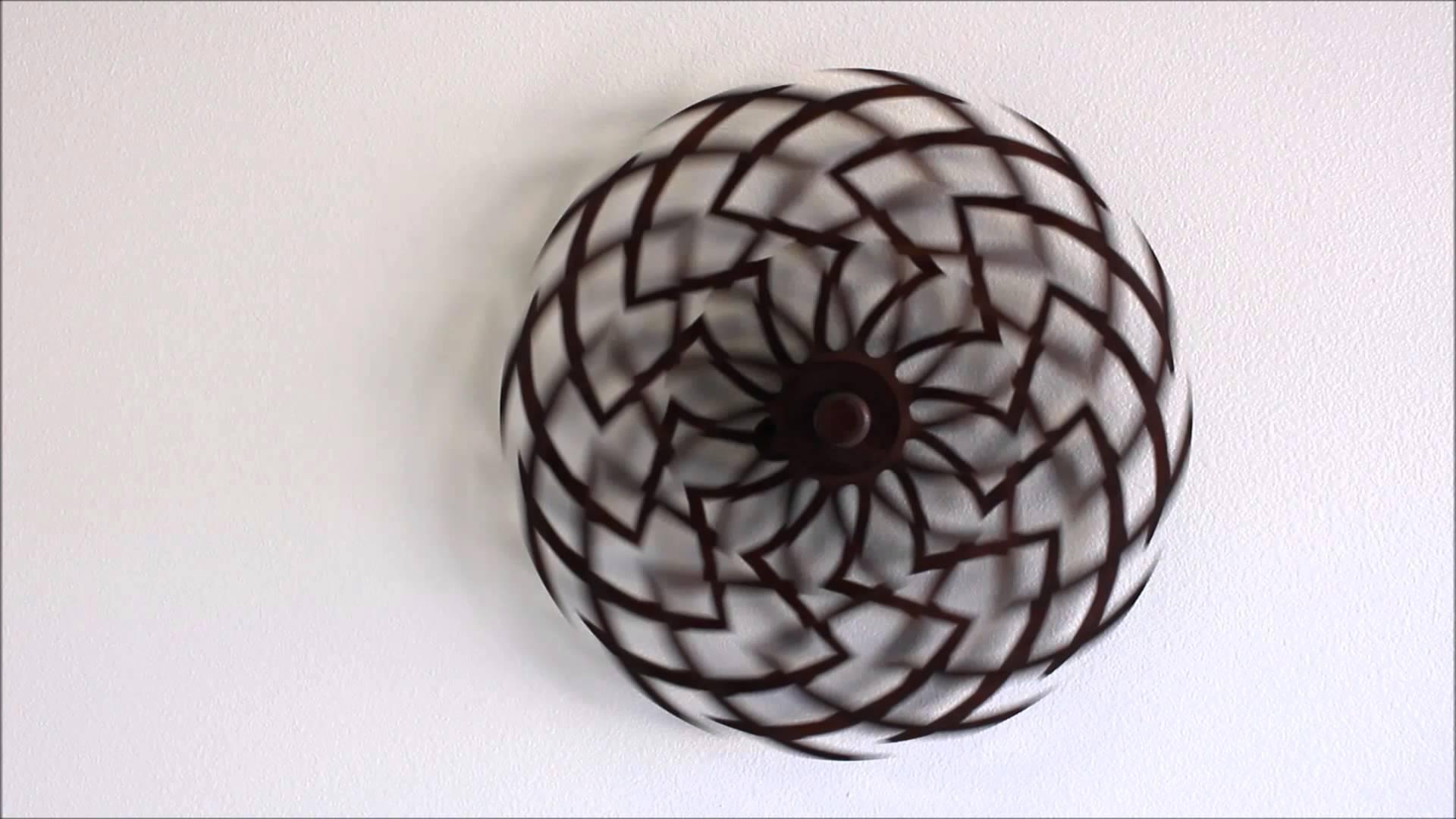Zinnia Kinetic Sculptureclayton Boyer - Youtube regarding Kinetic Wall Art
