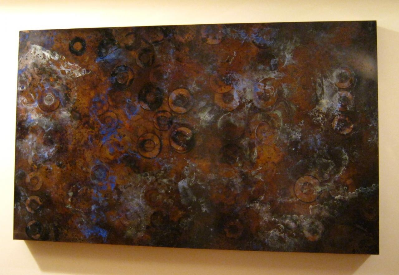 Zspmed Of Copper Wall Art Throughout Copper Wall Art Home Decor (Photo 15 of 20)