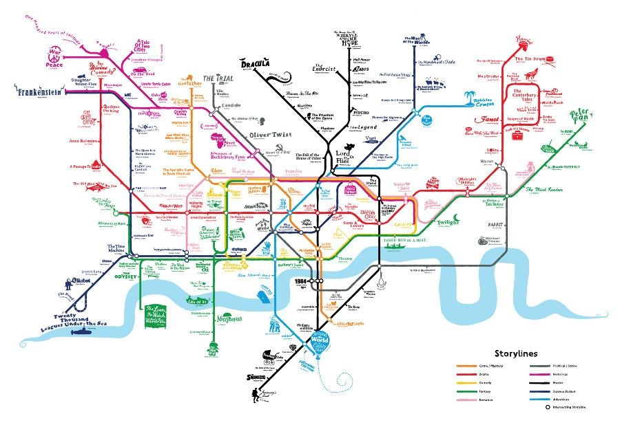 11 Hand Drawn Maps To Adorn Any London Lover's Wall – Now (Image 3 of 20)