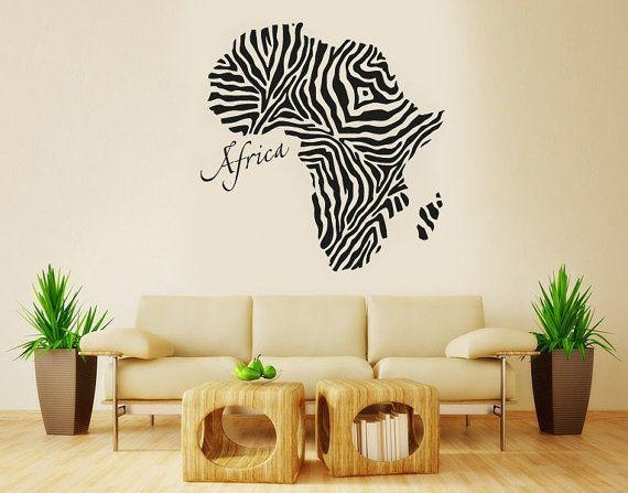 Featured Image of Africa Map Wall Art