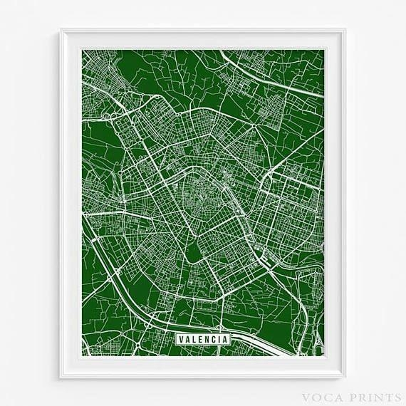 135 Best Europe Street Map Prints Images On Pinterest | Art With Regard To Street Map Wall Art (Image 1 of 20)