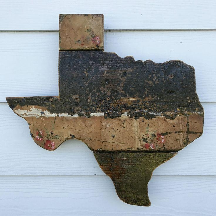203 Best Atxfrontporch Images On Pinterest | Texas Signs, Etsy For Texas Map Wall Art (View 7 of 20)