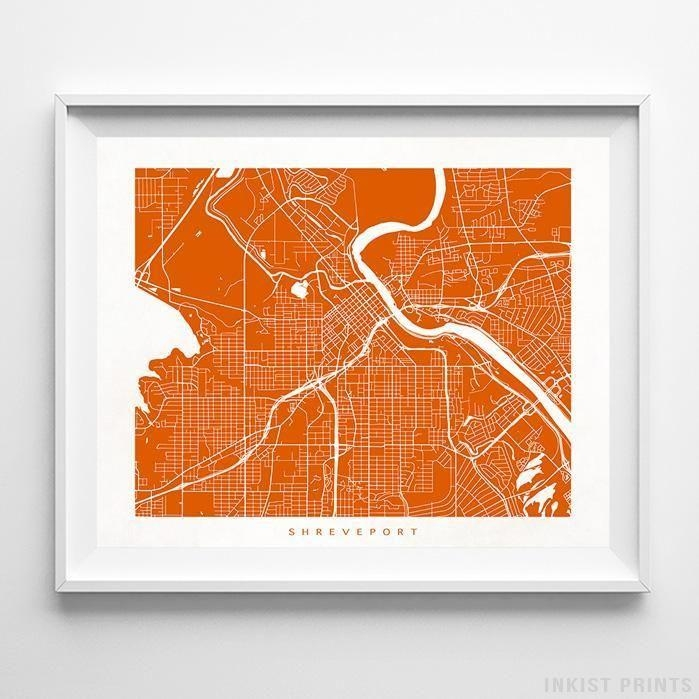 266 Best Usa Street Map Wall Art Printinkist Prints (Image 3 of 20)