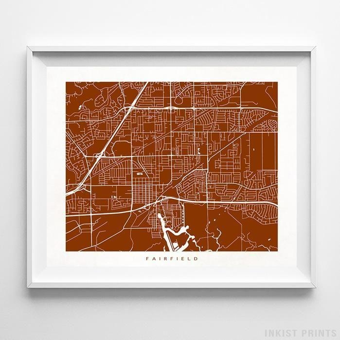 266 Best Usa Street Map Wall Art Printinkist Prints (Image 4 of 20)