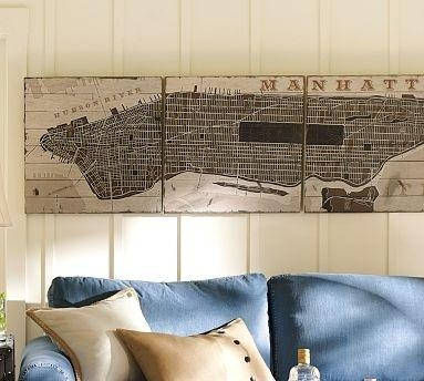 27 Best Maps Images On Pinterest | New York City, Brooklyn And Within Manhattan Map Wall Art (Image 2 of 20)
