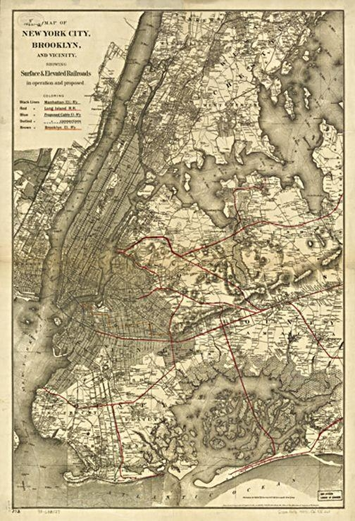 32 Best New York Antique Map Wall Art Images On Pinterest Pertaining To Brooklyn Map Wall Art (Image 2 of 20)