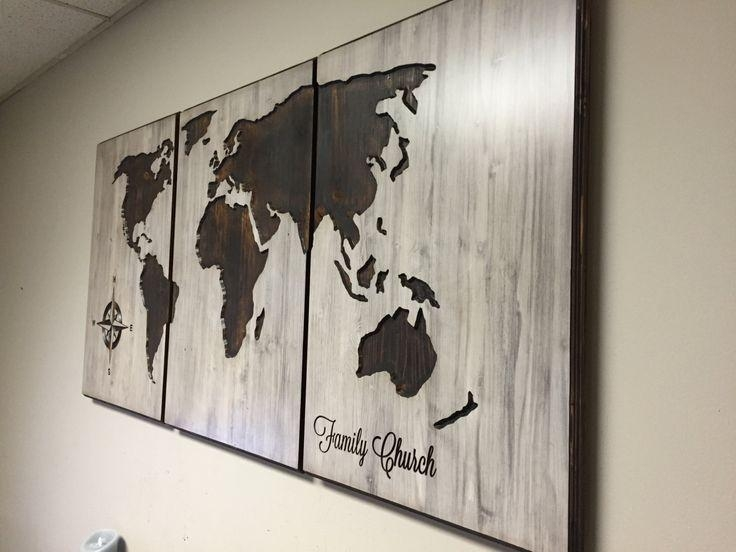 34 Best Business Signs Images On Pinterest | Business Signs Within Custom Map Wall Art (View 17 of 20)