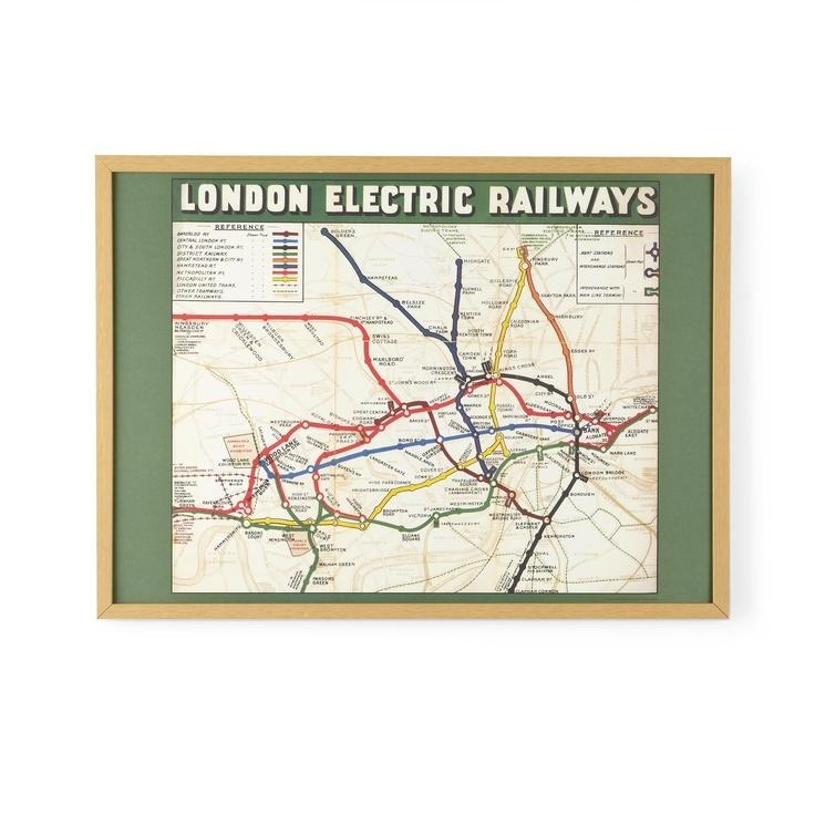 34 Best London Calling Images On Pinterest | London Calling, Print Within Tube Map Wall Art (Image 4 of 20)