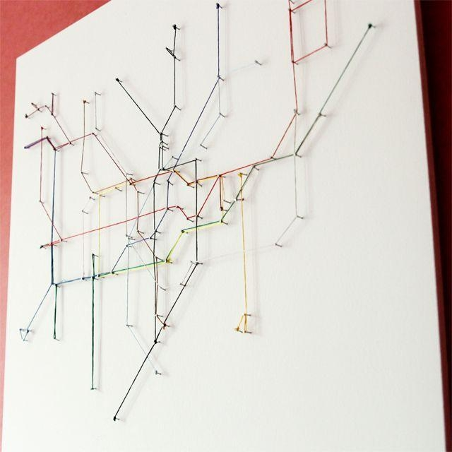 37 Best London Underground Wedding Table Plan Images On Pinterest Within Metro Map Wall Art (Image 2 of 20)