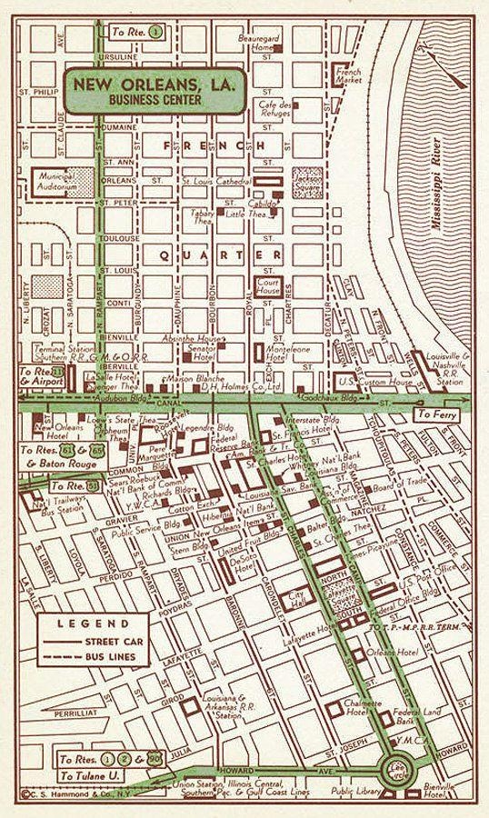 37 Best .maps. Images On Pinterest | City Maps, Map Art And Art regarding New Orleans Map Wall Art