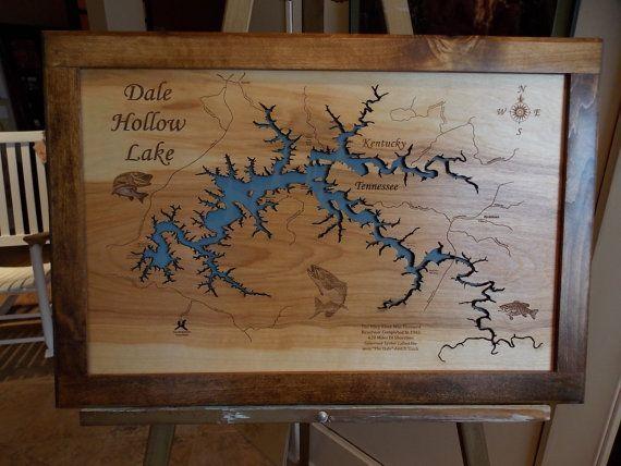 38 Best Framed Laser Cut Wood Lake Maps Images On Pinterest | Maps Regarding Lake Map Wall Art (Image 4 of 20)