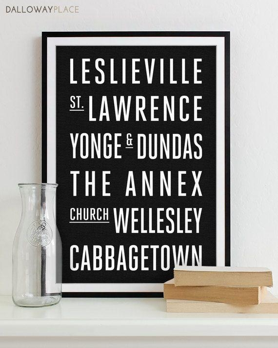 44 Best Subway Wall Art (That I've Been On) Images On Pinterest Regarding Toronto Map Wall Art (Image 3 of 20)