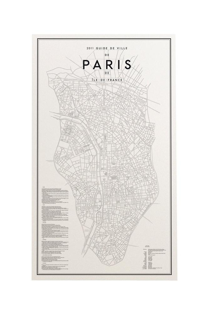 47 Best Maps And Travel Graphic Inspiration Images On Pinterest Inside Paris Map Wall Art (Image 3 of 20)