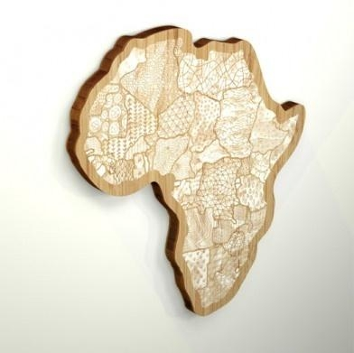47 Best Maps Of Africa Images On Pinterest | Black Art, Cards And inside Africa Map Wall Art