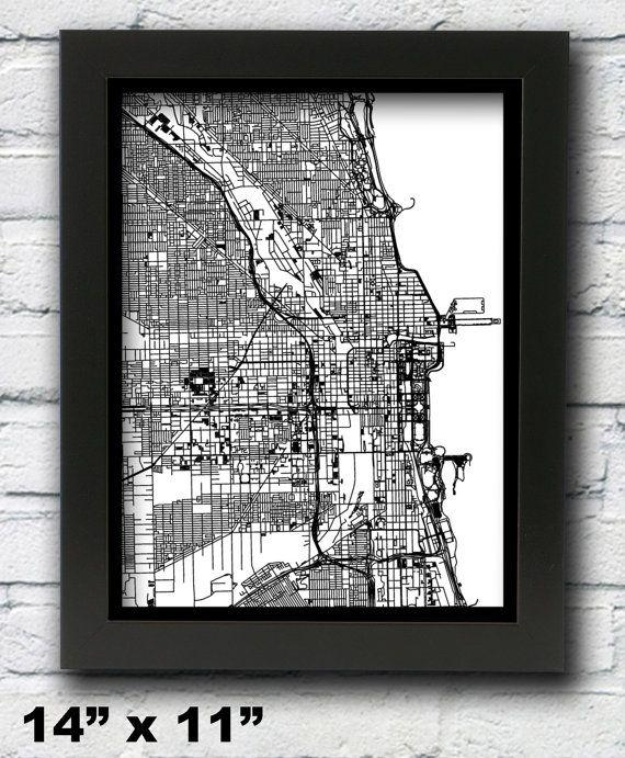 50 Best Maps Images On Pinterest | Map Art, Cards And Papercutting With Street Map Wall Art (Image 6 of 20)