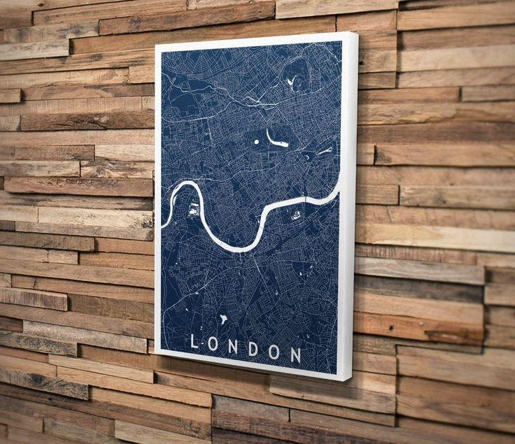 546 Best Maps Images On Pinterest | Map Art, Custom Map And Maps Throughout Custom Map Wall Art (View 18 of 20)