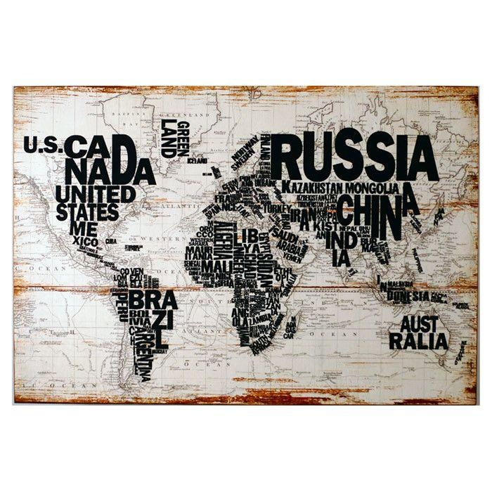 66 Best World Traveler Room Images On Pinterest | Good Ideas For Cool Map Wall Art (Photo 16 of 20)