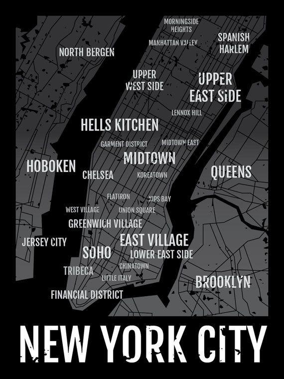 7 Best Art Suggestions Images On Pinterest | City Maps, New York inside New York City Map Wall Art