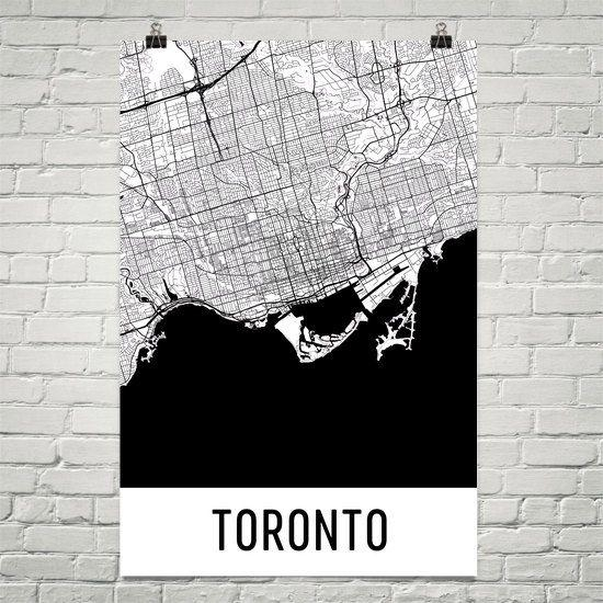 78 Best Toronto Images On Pinterest | Canada Travel, Places To Intended For Toronto Map Wall Art (Image 4 of 20)