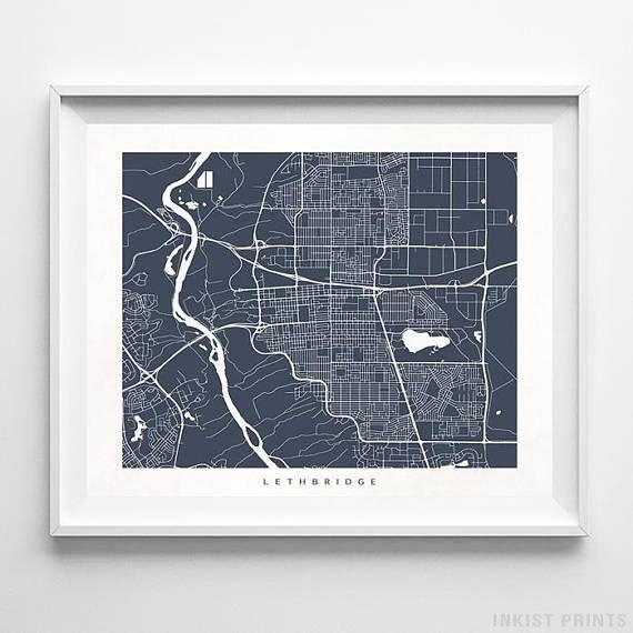 8 Best Canada Street Map Wall Art Printinkist Prints (Image 7 of 20)