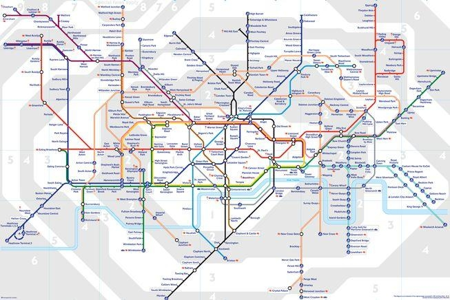 8 Subway Maps That Double As Works Of Art | Mnn - Mother Nature intended for Tube Map Wall Art