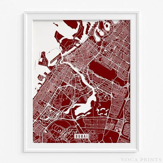 89 Best Foreign Street Map Prints Images On Pinterest | Art Intended For Street Map Wall Art (Image 8 of 20)