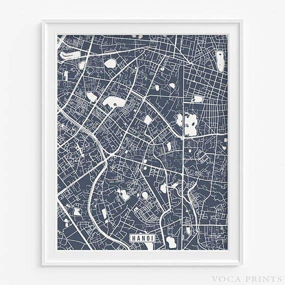 89 Best Foreign Street Map Prints Images On Pinterest | Art Pertaining To Street Map Wall Art (Image 9 of 20)