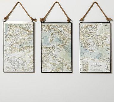 961 Best Maps Among Us. Images On Pinterest | Vintage Maps within Nautical Map Wall Art