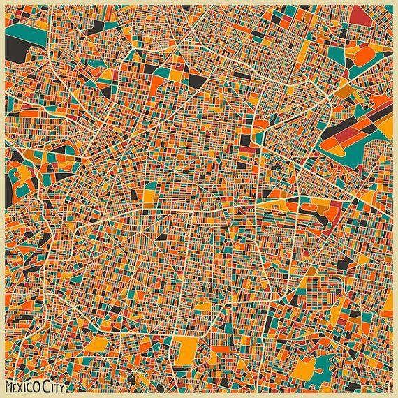 Best 25+ City Maps Ideas On Pinterest | Map Of Paris, Map Of Intended For City Map Wall Art (View 20 of 20)
