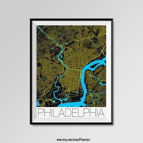 Best 25+ Philadelphia Map Ideas On Pinterest | Maps S, Map Of In Philadelphia Map Wall Art (Image 4 of 20)